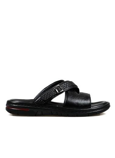 Hammer Jack Erkek Terlik / Sandalet 183 315-M Siyah